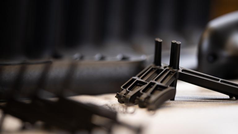 Linear Plastics injection moulding pieces